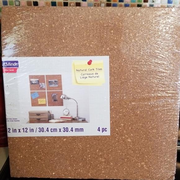 ArtMinds Other - Brand NEW Cork tiles